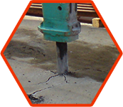 Marteau hydraulique ou marteau piqueur pour les travaux